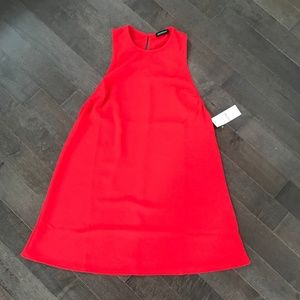 American Apparel 70's Inspired Lipstick Red Dress